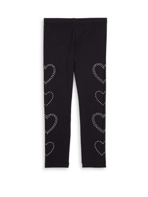 Little Girls Heart leggings