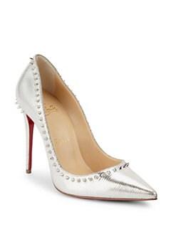 christian louboutin low heel shoes