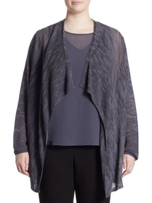 Nirvana Cardigan by NIC+ZOE Plus