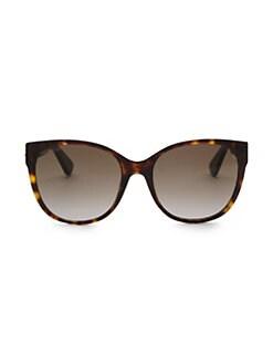 c973bbe6410 Gucci. 56MM Cat Eye Sunglasses