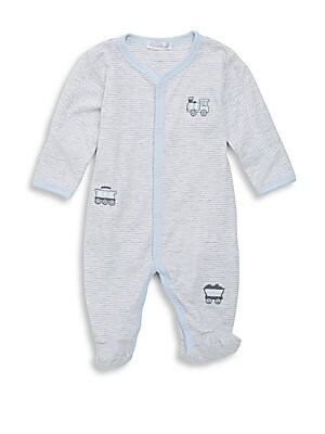 0720df58f7e6 Ralph Lauren - Baby s Embroidered Pony Footie - saks.com