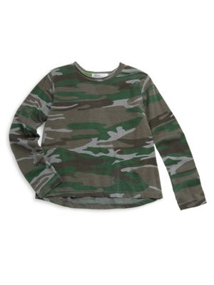 Babys Toddlers Little Boys  Boys Berkeley Camo Overdyed Tee