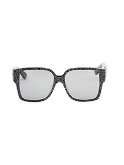 bc19e541cd7b Saint Laurent. 55MM Square Sunglasses