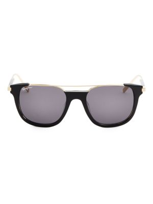 Salvatore Ferragamo  52MM Square Sunglasses