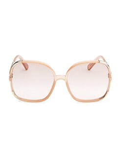ce3e631764c50 QUICK VIEW. Chloé. Tinted 62MM Square Sunglasses