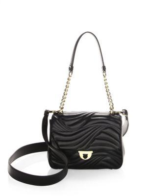 Small Lexi Leather Shoulder Bag by Salvatore Ferragamo
