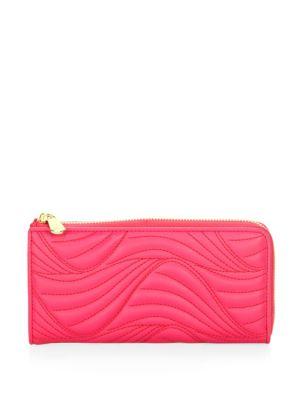 Mufasa Leather Zip Continental Wallet by Salvatore Ferragamo