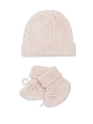 892faaa13c91 Ralph Lauren - Baby s Two-Piece Hat   Booties Set - saks.com