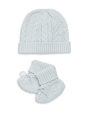 4b9c685cd90 Ralph Lauren - Baby s Two-Piece Hat   Booties Set