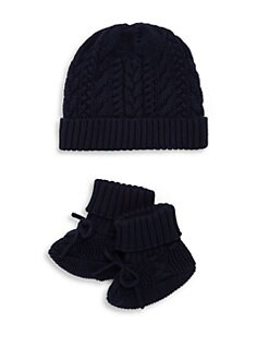 f29755ffc0264 QUICK VIEW. Ralph Lauren. Baby s Two-Piece Cotton Hat ...