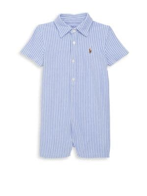 Babys Kensington Striped Shortall