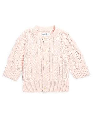 7656169c75 Ralph Lauren - Baby Girl's Aran-Knit Cardigan - saks.com