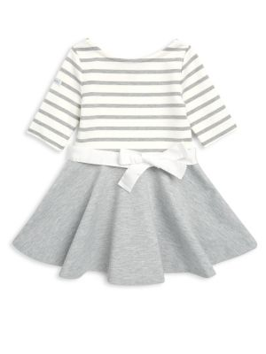 Toddlers  Little Girls Stripe FitFlare Dress