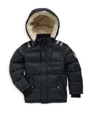 Little Boys  Boys Hooded Puffer Jacket