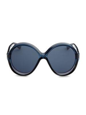 76de967f0b Michael Kors - Summer Breeze 50MM Round Sunglasses - saks.com