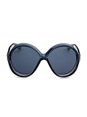 652c4f30dd Dior - Dior Bianca 58MM Round Sunglasses - saks.com