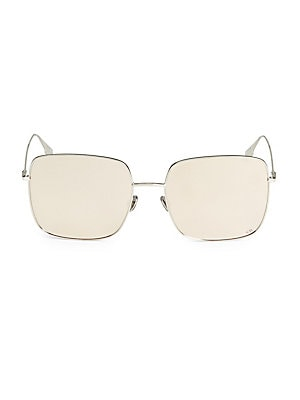 3d2dd1ddcadd Dior - DiorStellaire1 Mirrored Square Sunglasses - saks.com