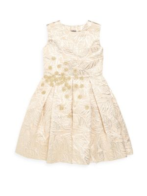 Toddler Little Girls  Girls Jacquard ALine Dress