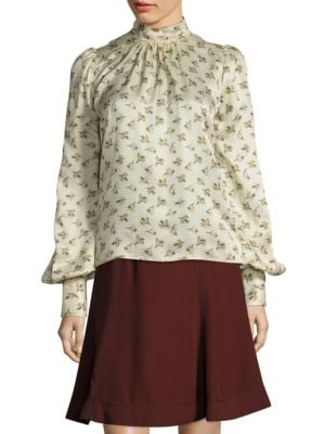 Silk Floral Blouse by Marc Jacobs