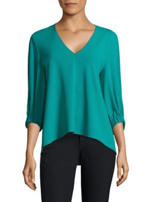Crepe Trapeze Top by Tibi