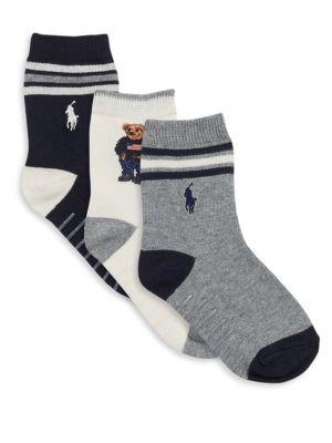 Boys St James Striped Socks3Pack