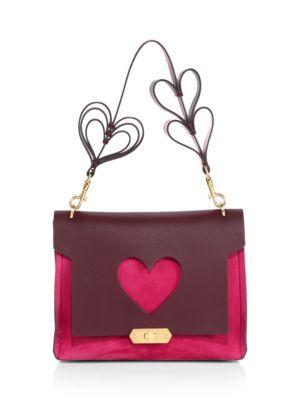 Pink Bathurst Heart Xs Bag, Purple