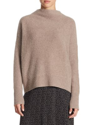 Vince Cashmeres Funnel Cashmere Sweater