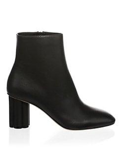 7d8c17b30ee Salvatore Ferragamo. Classic Leather Ankle Boots