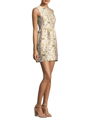 Insect Mini Dress by Red Valentino