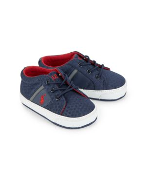 Baby's Layette Felixstow Ii Lace Up Sneakers by Ralph Lauren