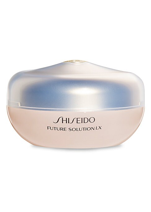 Image of A silky-smooth powder infused with Japanese botanical ingredients to set makeup for a sheer luminous finish and lasting wear. Includes an ultra-soft powder puff made in Japan that uses long fibers to hold the powder for the perfect application to skin. Au