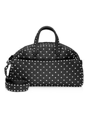 Valentino  Valentino Garavani Rockstud Spike Leather Bowling Bag