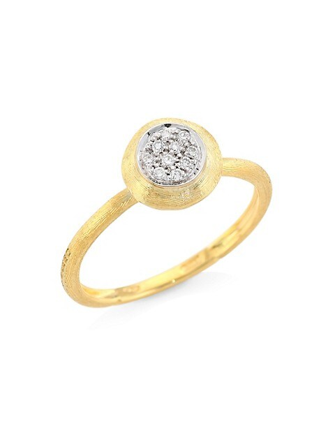 Jaipur 18K Yellow Gold & Diamond Ring