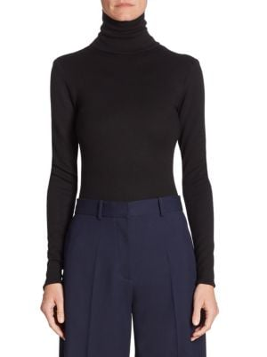 Bodycon Turtleneck Bodysuit by Victoria Beckham