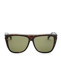 658730bf9cb QUICK VIEW. Saint Laurent. 59MM Square Sunglasses