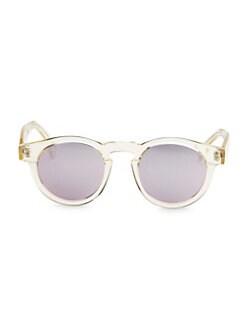 b5243e93de2 QUICK VIEW. Illesteva. 48MM Champagne Rose Mirror Round Sunglasses