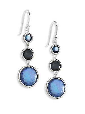 Ippolita Lollipop 174 Earrings Semi Precious Multi Stone Drop