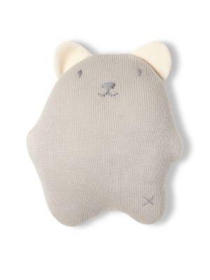 Cotton Bear Pillow Rattle