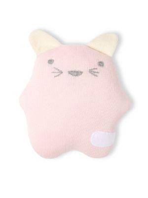 Cotton Cat Pillow Rattle