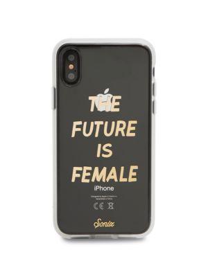 SONIX Future Is Female Iphone 6/7/8 Case in Black