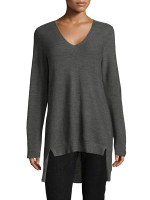 V-neck Tunic Top by Eileen Fisher
