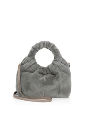 Sheared Mink Fur Bag by The Row