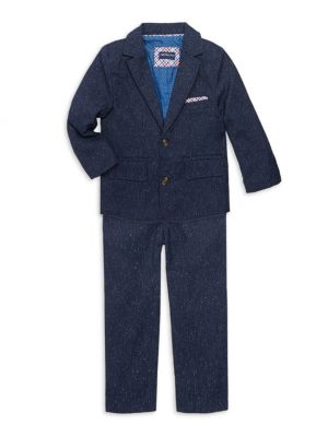 Little Boys Speckled Suit