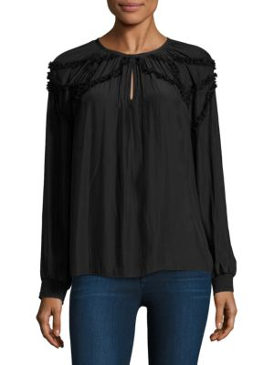 Gina Tech Chiffon Top by Ramy Brook