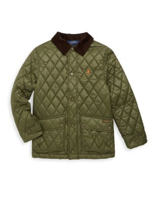 Toddlers Little Boys  Boys Quilted Barn Jacket