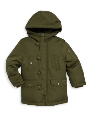 Toddlers Little Boys  Boys Military Parka