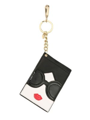 Lobster Clasp Leather Card Case by Alice + Olivia