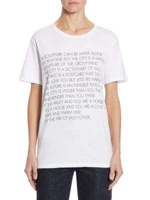 Graphic Cotton Tee by EACH X OTHER