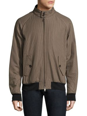 BARACUTA G9 Raglan Winter Jacket in Pied De Po
