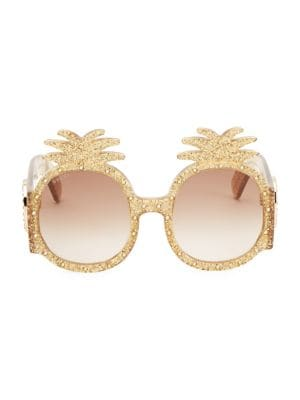 efc83eb8f87c Gucci - 55MM Oversized Square Colorblock Sunglasses - saks.com